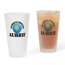World's Coolest Aubrie Drinking Glass
