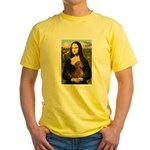 Mona's Dachshund Yellow T-Shirt