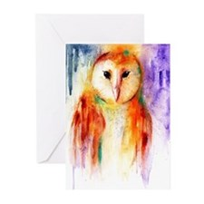 Unique Barn owl Greeting Cards (Pk of 20)