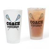 Lacrosse coach Pint Glasses