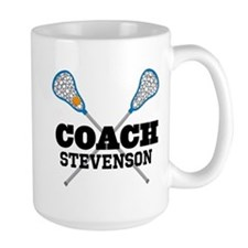 Lacrosse Coach Personalized Mugs