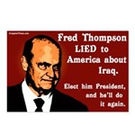 8 Fred Thompson Lied on Iraq Postcards
