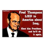 8 Fred Thompson Lied on Iraq Postcards