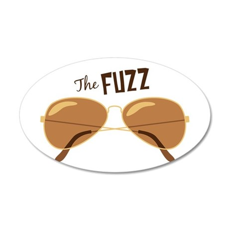 The Fuzz Wall Decal