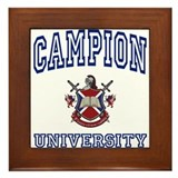 CAMPION University Framed Tile
