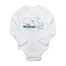 Cute Mass Long Sleeve Infant Bodysuit