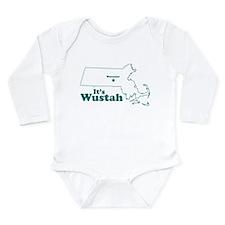 Unique Aqua Long Sleeve Infant Bodysuit