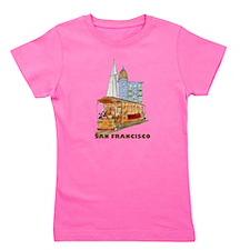 Cute San francisco travel Girl's Tee