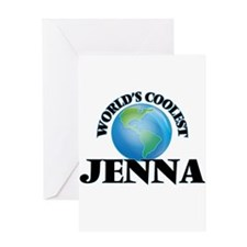 World's Coolest Jenna Greeting Cards