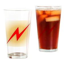 Power Bolt Drinking Glass
