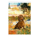 Garden (VG) & Dachshund Postcards (Package of 8)