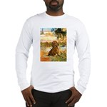 Garden (VG) & Dachshund Long Sleeve T-Shirt