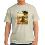 Garden (VG) & Dachshund Light T-Shirt