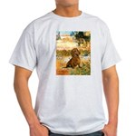 Garden (VG) & Dachshund Light T-Shirt
