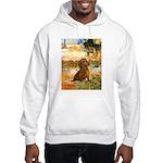 Garden (VG) & Dachshund Hooded Sweatshirt