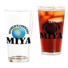 World's Coolest Miya Drinking Glass