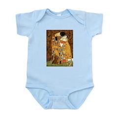 Kiss / Dachshund Infant Bodysuit