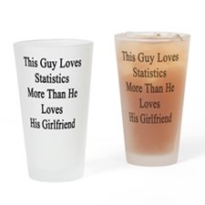 This Guy Loves Statistics More Than Drinking Glass