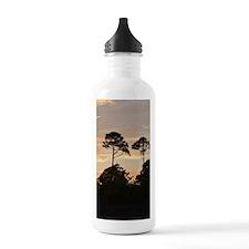 Autumn Twin Pines Water Bottle
