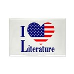 American Literature Rectangle Magnet (100 pack)
