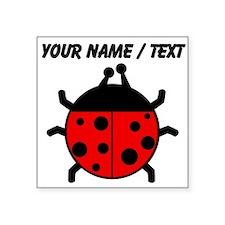 Custom Ladybug Sticker
