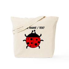 Custom Ladybug Tote Bag