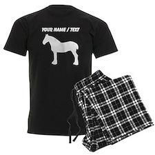 Custom Horse Silhouette Pajamas