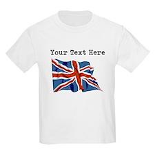 Custom United Kingdom Flag T-Shirt