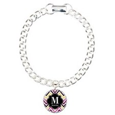 Colorful Chevron Monogra Bracelet