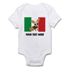 Chihuahua Dog Mexican Flag Cute Body Suit