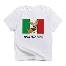 Chihuahua Dog Mexican Flag Cute Infant T-Shirt