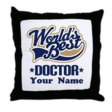 Doctor Personalized Throw Pillow