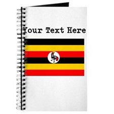 Custom Uganda Flag Journal