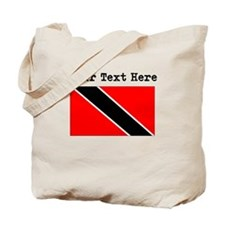 Custom Trinidad And Tobago Flag Tote Bag