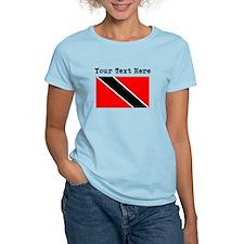 Custom Trinidad And Tobago Flag T-Shirt