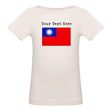 Custom Taiwan Flag T-Shirt