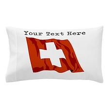 Custom Switzerland Flag Pillow Case