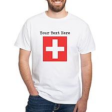 Custom Switzerland Flag T-Shirt
