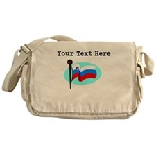 Custom Slovenia Flag Messenger Bag