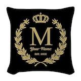 Crown Throw Pillows