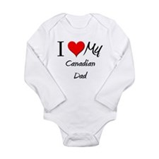 Cute Canadian music Long Sleeve Infant Bodysuit