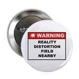 WARNING: Reality Distortion Field Button (10-pack)