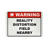 WARNING: Reality Distortion Field Magnet