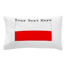 Custom Poland Flag Pillow Case