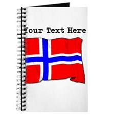 Custom Norway Flag Journal