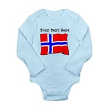 Custom Norway Flag Body Suit