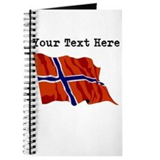 Custom Norway Flag Journal