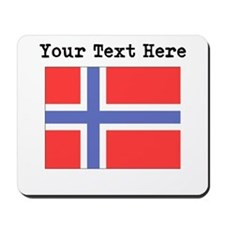 Custom Norway Flag Mousepad