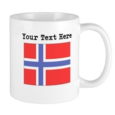 Custom Norway Flag Mugs