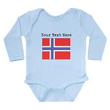 Custom Norway Flag Body Suit